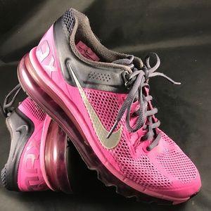 NIKE AIR MAX 2014 Pink Grey Womens 7.5 US 38.5 EUR